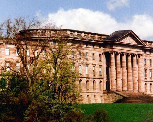Schloss Wilhelmshöhe Material: Sandstein